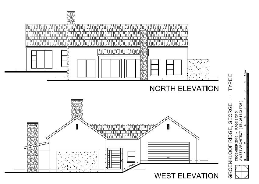 Groenkloof Rif   House Plan Type E